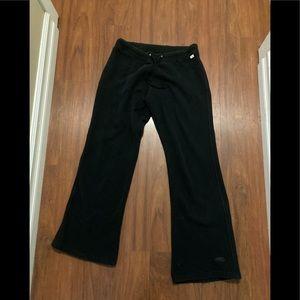 Roots black sweat pants size medium